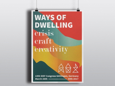 Poster Ways of dwelling