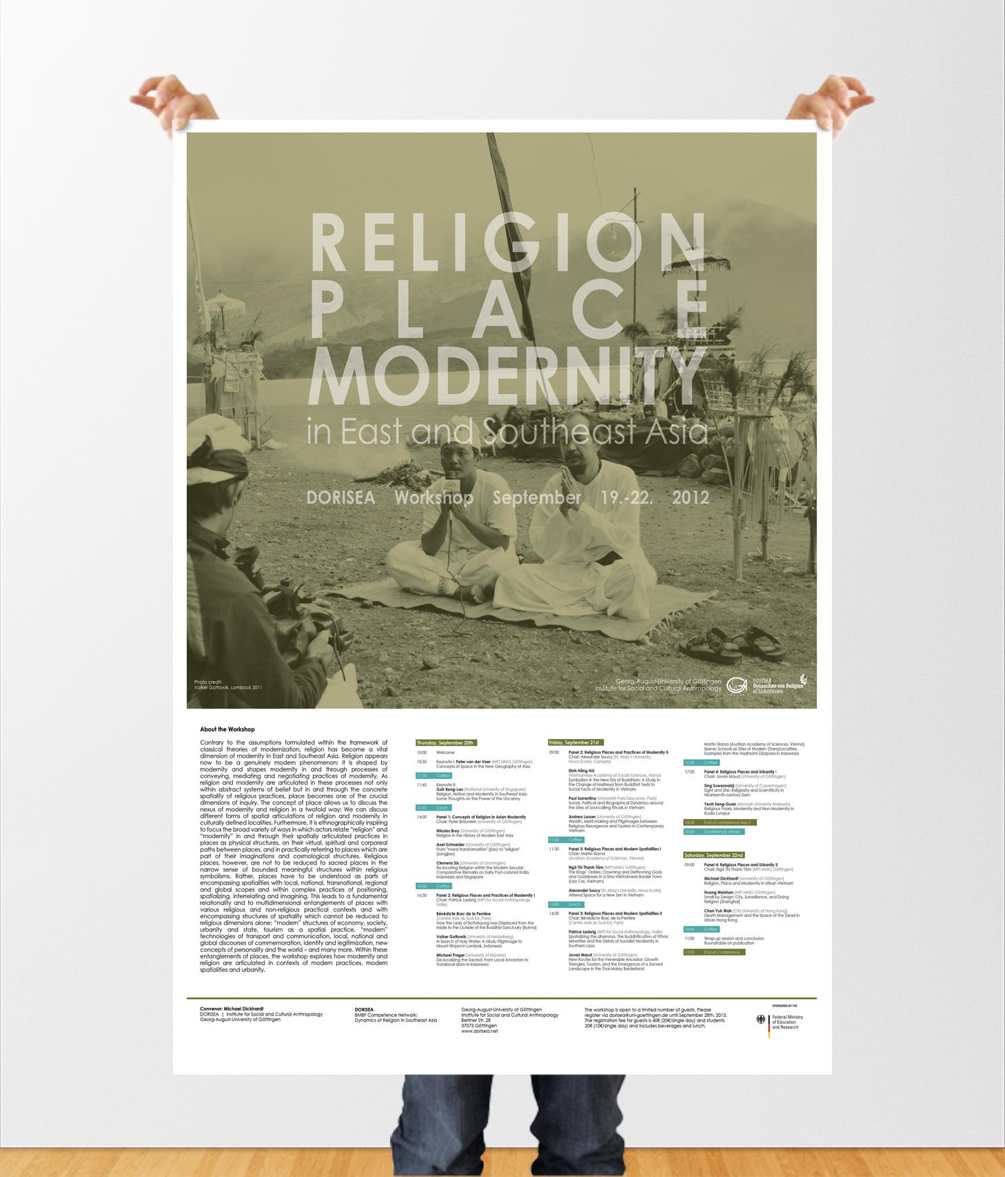 DORISEA Religion poster