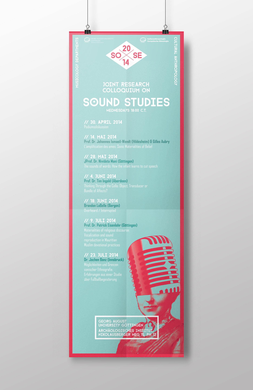 Sound Studies poster