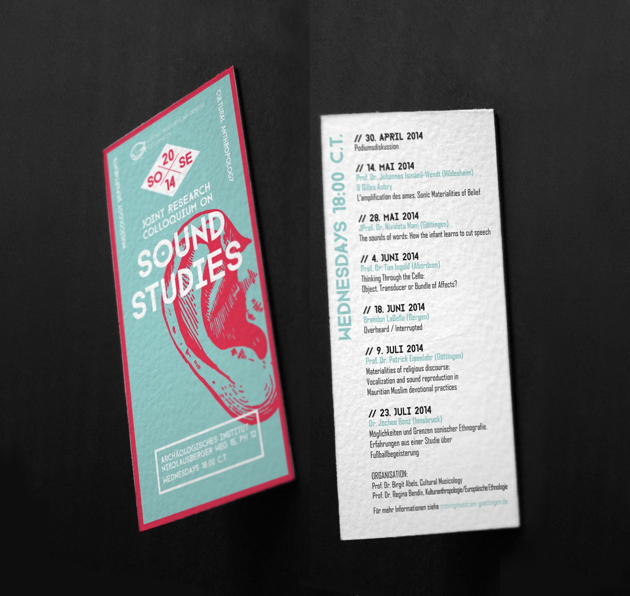 Sound Stuidies flyer